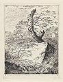 Steen bij een boom Landschappen (serie A) (serietitel), RP-P-1938-1901.jpg