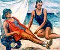 Stefan Dimitrescu - Femei pe plaja.jpg