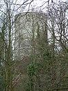 Kasteel Stein: burcht, ruïne gelegen op een omgrachte heuvel