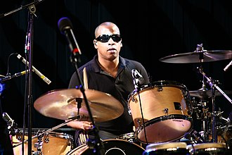Sterling Campbell - Campbell supporting the B-52s during a 2009 tour
