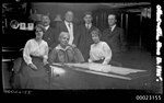 Sterling family in the saloon on board E R STERLING (5059060600).jpg