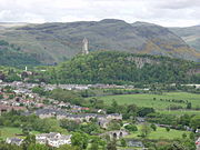 Stirling with Wallace-Monument