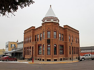 National Register of Historic Places listings in Stanley County, South Dakota - Image: Stockgrowers Bank Building
