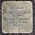Stolperstein Bamberger Str 16 (Wilmd) Max Secklmann.jpg