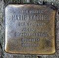 Stolperstein Liebenwalder Str 44 (Weddi) Marie Kairies.jpg