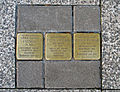 Stolpersteine Esch-Alzette, 119 rue de l'Alzette 01.jpg
