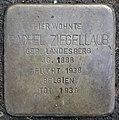 Stolpersteine Köln, Rachel Ziegellaub (Thieboldsgasse 102).jpg
