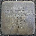 Stolperstein for Rachel Ziegellaub (Thieboldsgasse 102)