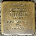 Stolpersteine Krefeld, Siegfried Italiander (Rheinstraße 67).jpg