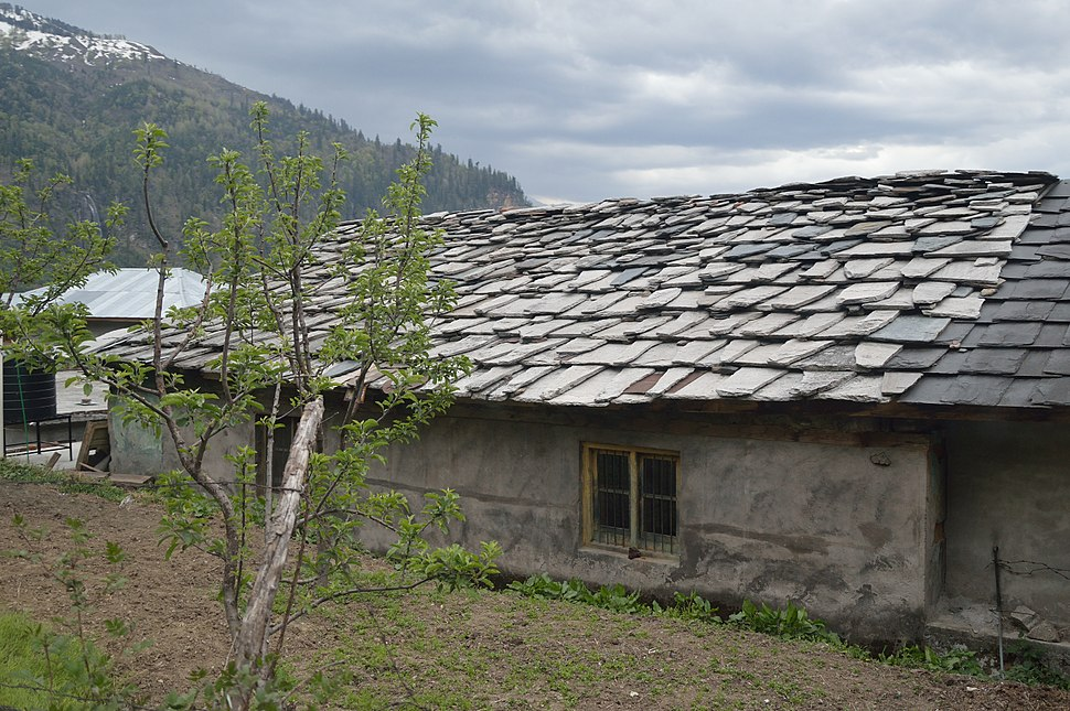 Stone Roofing House - Palchan - Kullu 2014-05-10 2507