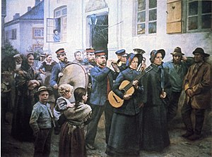 Wilhelm Peters (painter) - Image: Stormangrep