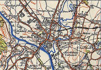 Stourport-on-Severn - Map of Stourport, 1942
