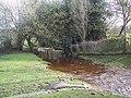 Stream running to join the Avon - Godshill - geograph.org.uk - 354930.jpg