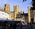 Street Market near Wells Cathedral, Somerset - geograph.org.uk - 873416.jpg