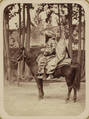 Street Types of Central Asian Cities. A Man and Woman Astride a Horse WDL11119.png