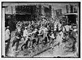 Strikers storming horse-drawn car, Philadelphia LCCN2014684532.jpg