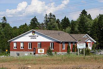 Strong, Ontario - Municipal office near Sundridge