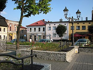 Strumień - Town square
