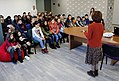 Students from Leo Tolstoy school visit Wikimedia Armenia office 27.12.2017 (05).jpg