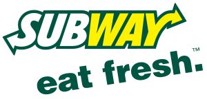 Subway logo and slogan taken from marketing ma...