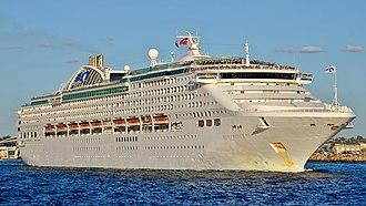 Sun-class cruise ship - Image: Sun Princess, Fremantle, 2016 (08)