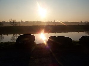Sunrise on the River Bann