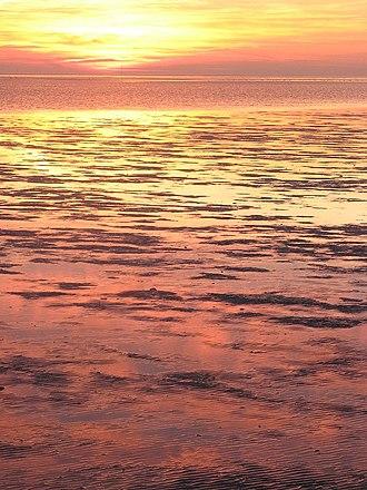 Schleswig-Holstein Wadden Sea National Park - Sunset in the Wadden Sea