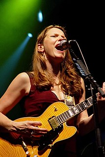 Susan Tedeschi American blues and soul musician