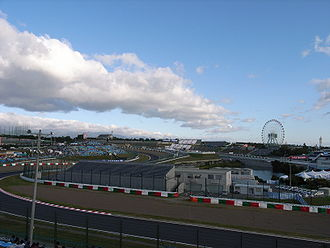 Suzuka International Racing Course - The Suzuka Circuit seen in 2006