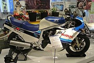 Suzuki Gsx R750 Wikipedia