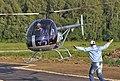 Svetlana Kapanina landing helicopter. (5269890325).jpg