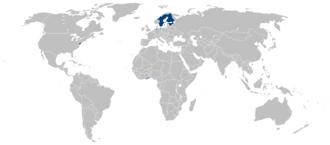 Swedish colony of Saint Barthélemy - Image: Swedish Empire