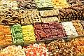 Sweets on Spice Bazaar in Istanbul 07.jpg