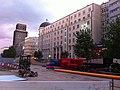 Swietokrzyska Street shut down for Metro construction - east.jpg