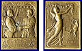 Swiss 400th Anniversary Medal. of Basel joining the Swiss Confederation as its 11th Canton in 1501.jpg