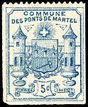 Switzerland Les Ponts-de-Martel 1892 revenue 1 5c - 1.jpg