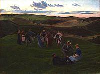Syberg Aftenleg i Svanninge Bakker 1900.jpg