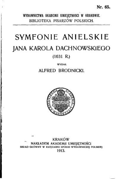 File:Symfonie Anielskie Jana Karola Dachnowskiego.djvu