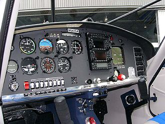 Symphony SA-160 - The Symphony SA-160 standard instrument panel