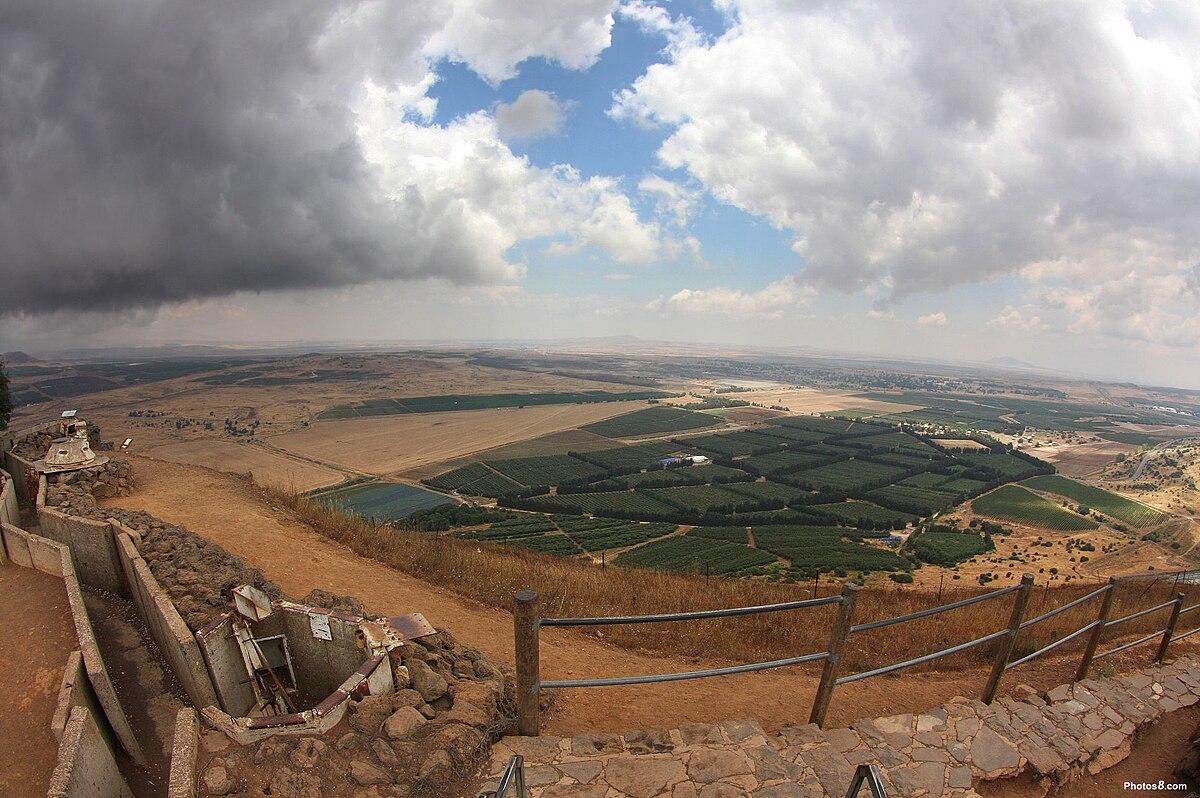 Stosunki Izraelsko Syryjskie Wikipedia Wolna Encyklopedia