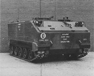 M113 armored personnel carrier - FMC T113 proposal
