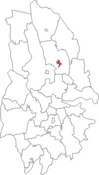 Lindesberg by i Örebro amt