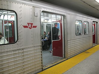 T series (Toronto subway) - Image: T1 St George
