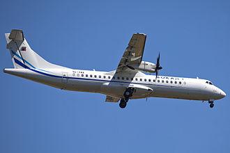 Borajet - A former Borajet ATR 72-500 in 2012