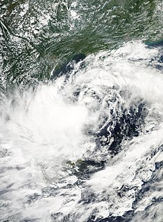 Tropical Depression 18W (2013) Pacific tropical depression in 2013
