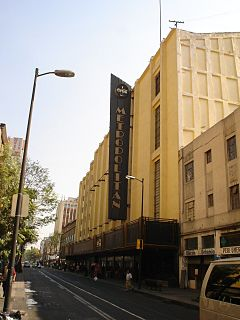 Teatro Metropólitan music venue and theater in Mexico City, formerly a movie theater