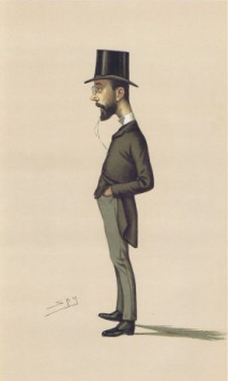 Tim Healy (politician) - Healy caricatured by Spy in Vanity Fair, 1886