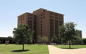 Texas Tech University College of Architecture - Architecture Building