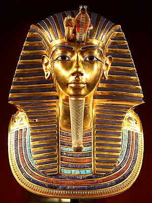 Grand Egyptian Museum -  Tutankhamun's death mask
