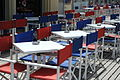 Tables and director's chairs on les Planches de Deauville 005.jpg
